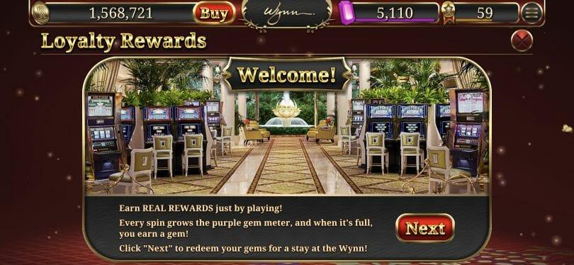 Wynn Slots lets you earn free nights at Wynn Las Vegas