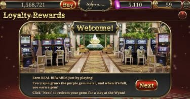 Wynn Slots lets you earn free nights at Wynn Las Vegas