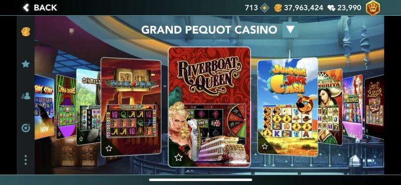 Foxwoods Online slots lobby