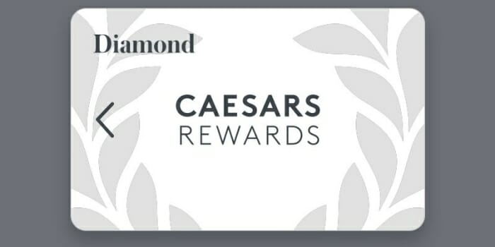 Caesars Rewards Diamond card