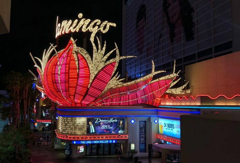 Flamingo Las Vegas as seen in 2018