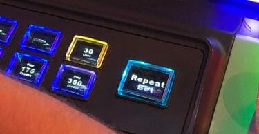 Repeat Bet button on WMS machine