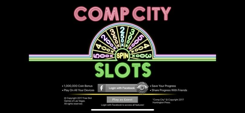Comp City Slots loading screen