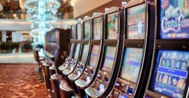 Slot machine row