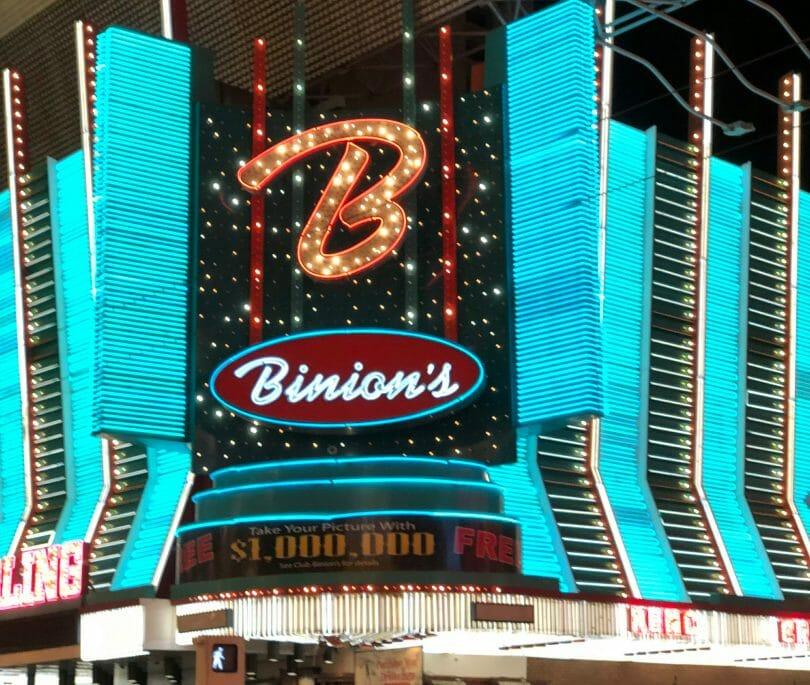 Binion's Fremont St Las Vegas