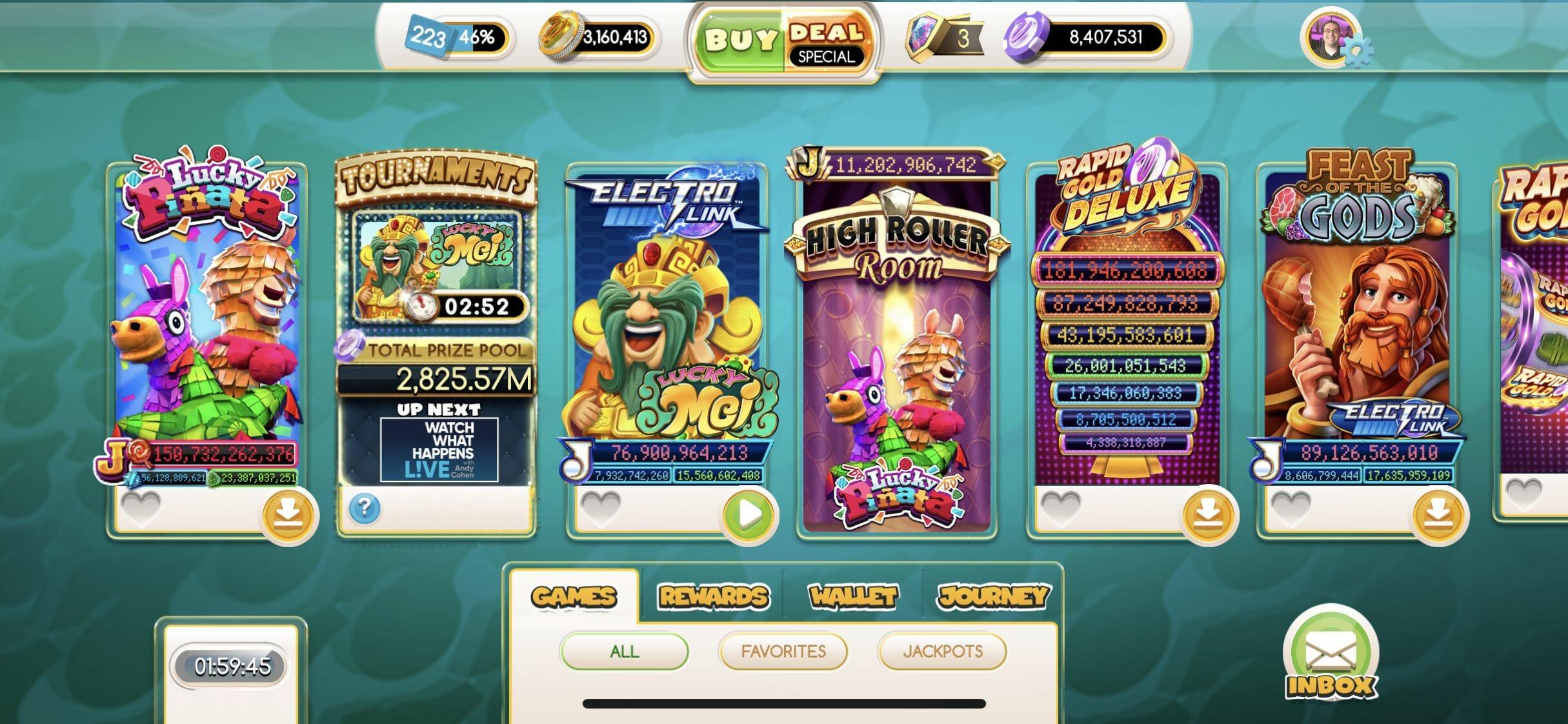 All Slots Brings Vegas Home