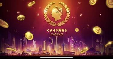 Caesars Casino splash screen
