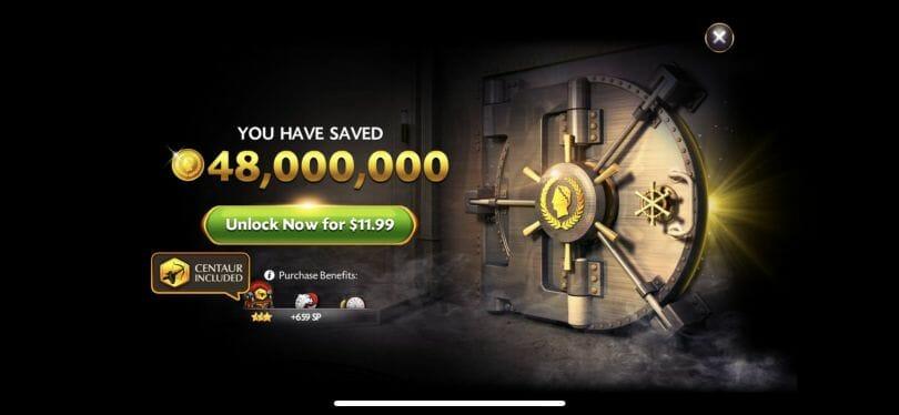Caesars Casino vault