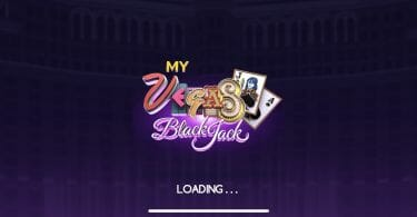 myVEGAS Blackjack loading screen
