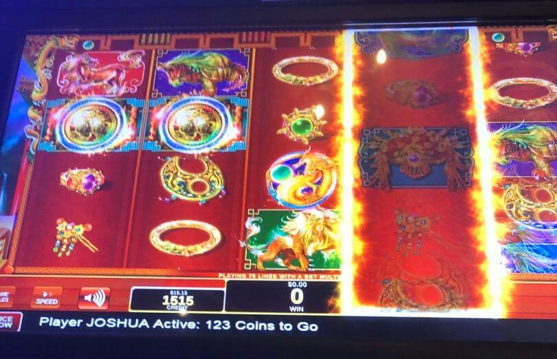 Dancing Phoenix Soaring Dragon two bonus symbols
