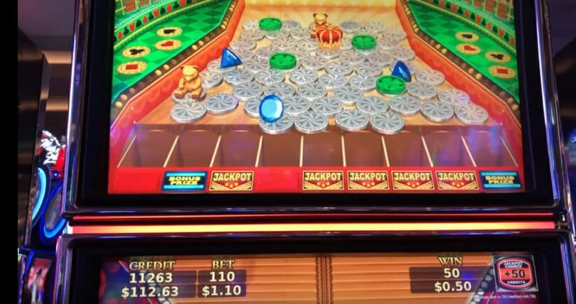 Jackpot Streams by Konami drop slots labeled