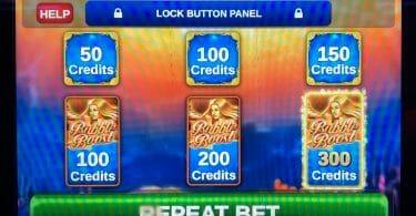 Ocean Magic bet panel