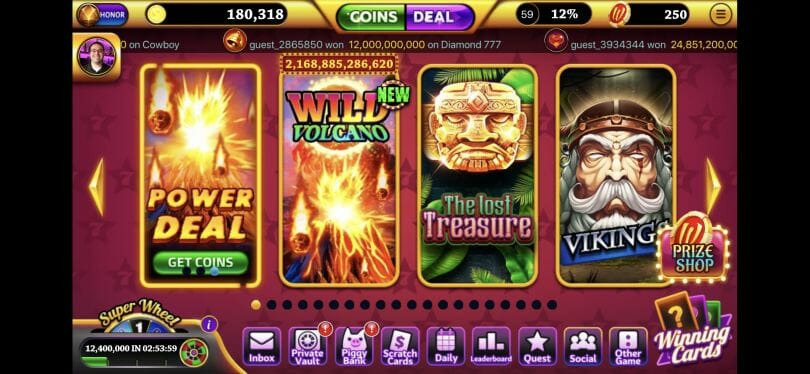 Winning Slots lobby