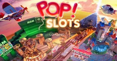 Pop Slots splash screen
