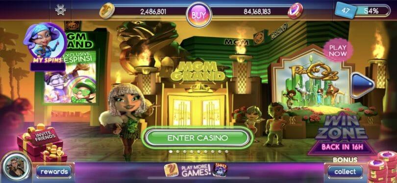 Pop Slots casino entrance