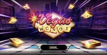Vegas Words splash screen