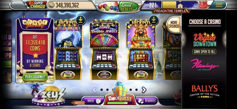 Vegas Words slot rooms