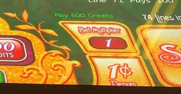 Denomination button slot machine Munchkinland