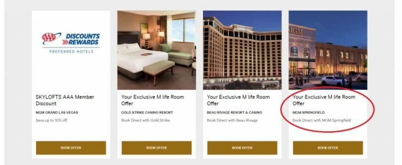 Mlife hotel offers local casinos