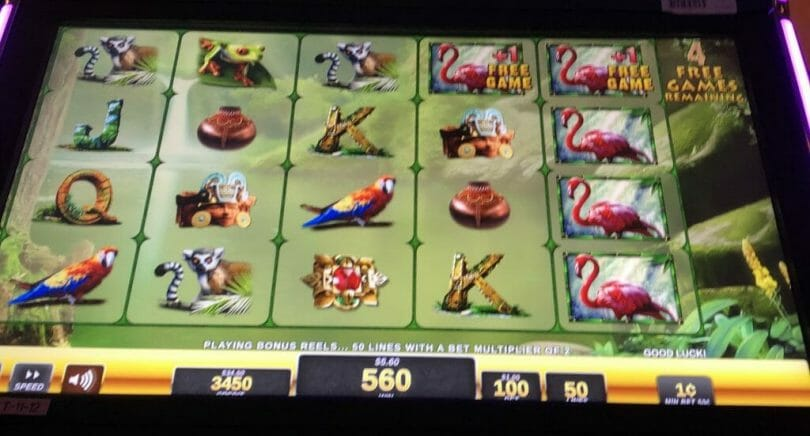 Jungle Riches by IGT free games flamingo wilds