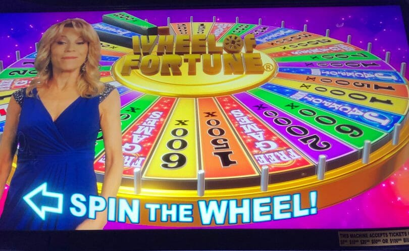 Wheel of Fortune 4D Spin the Wheel