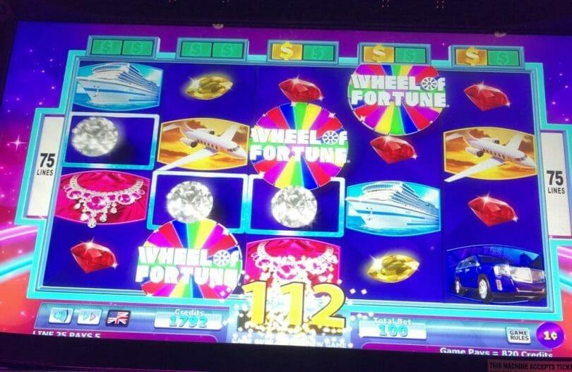 Wheel of Fortune 4D Bonus Trigger