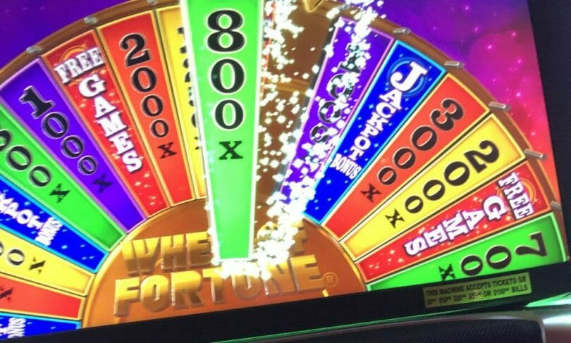 Wheel of Fortune 4D cash prize