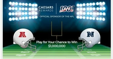 Caesars Play for Rewards promotion