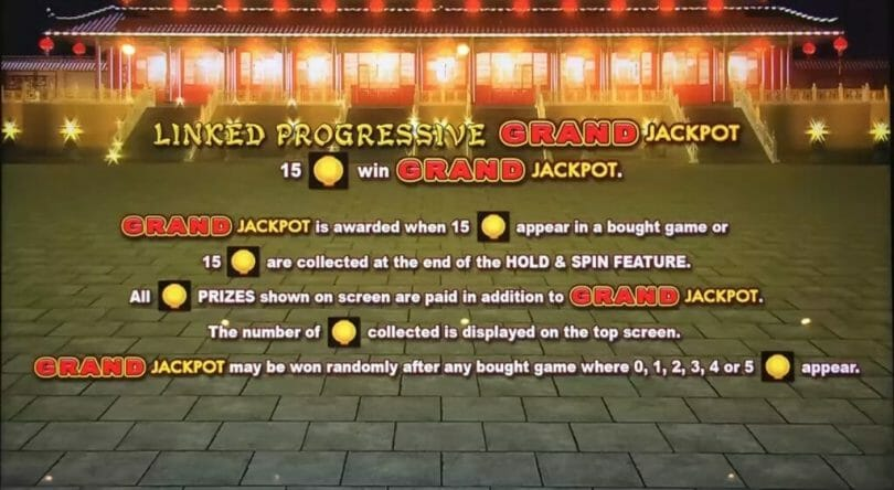 Lightning Link by Aristocrat Grand Jackpot