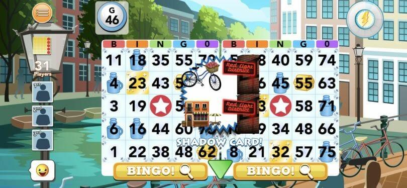 Bingo Blitz playing the game