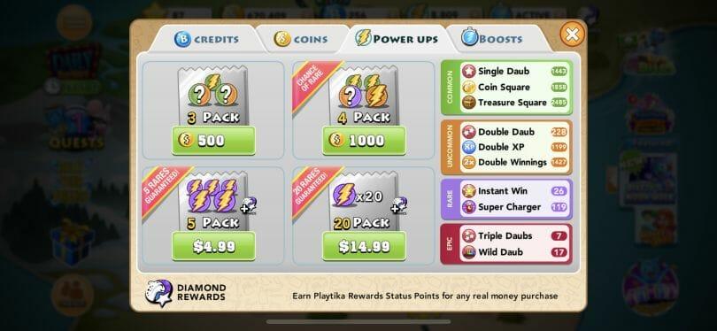 Bingo Blitz store