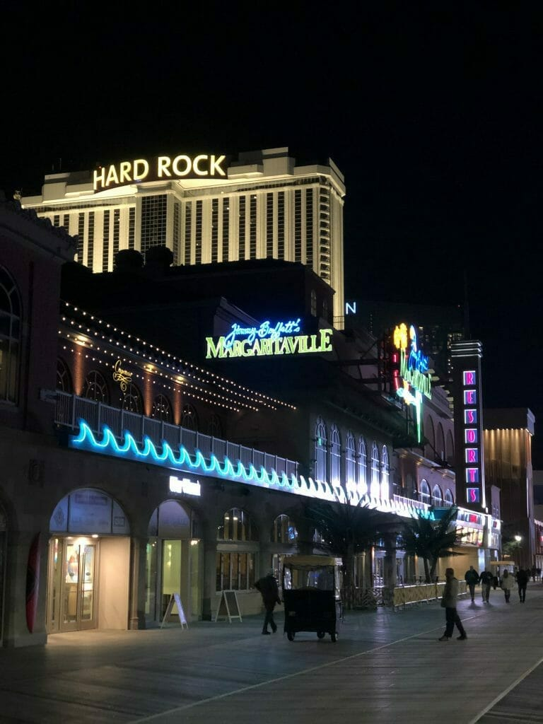 Atlantic Cirt Resorts and Hard Rock