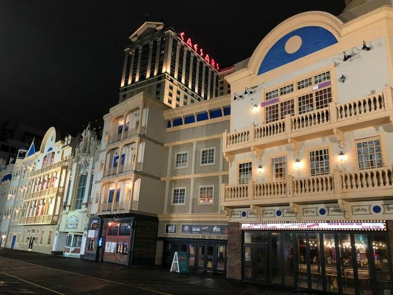 Wild Wild West casino at Bally's Atlantic City