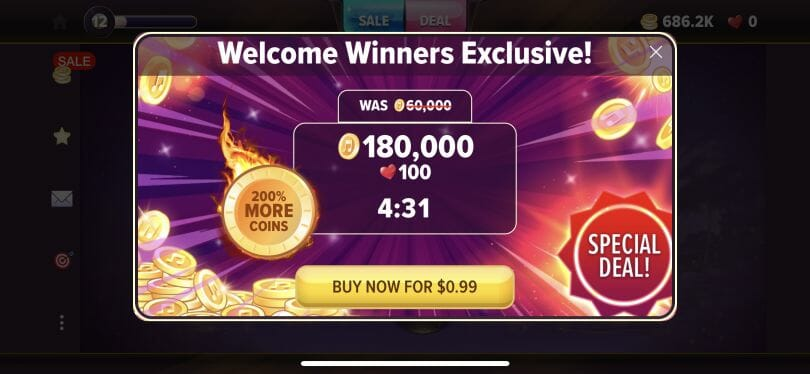 Hard Rock Social Casino coin special