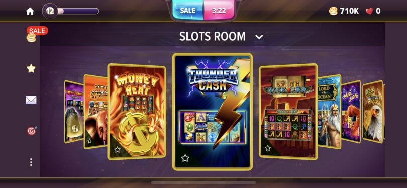 Hard Rock Social Casino slots room