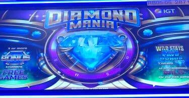 Diamond Mania by IGT top box