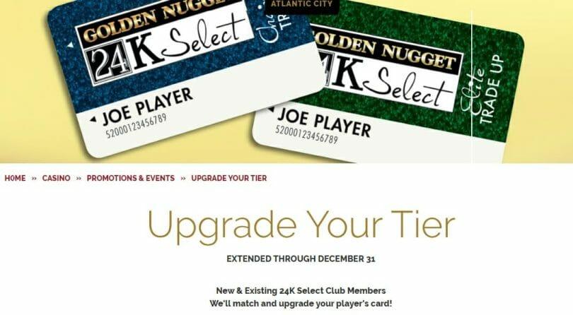 Golden Nugget Atlantic City tier match