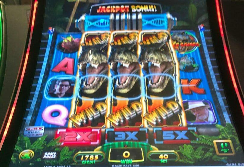 Jurassic Park Trilogy: Jurassic Park by IGT wild reels