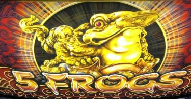 5 Frogs by Aristocrat logo