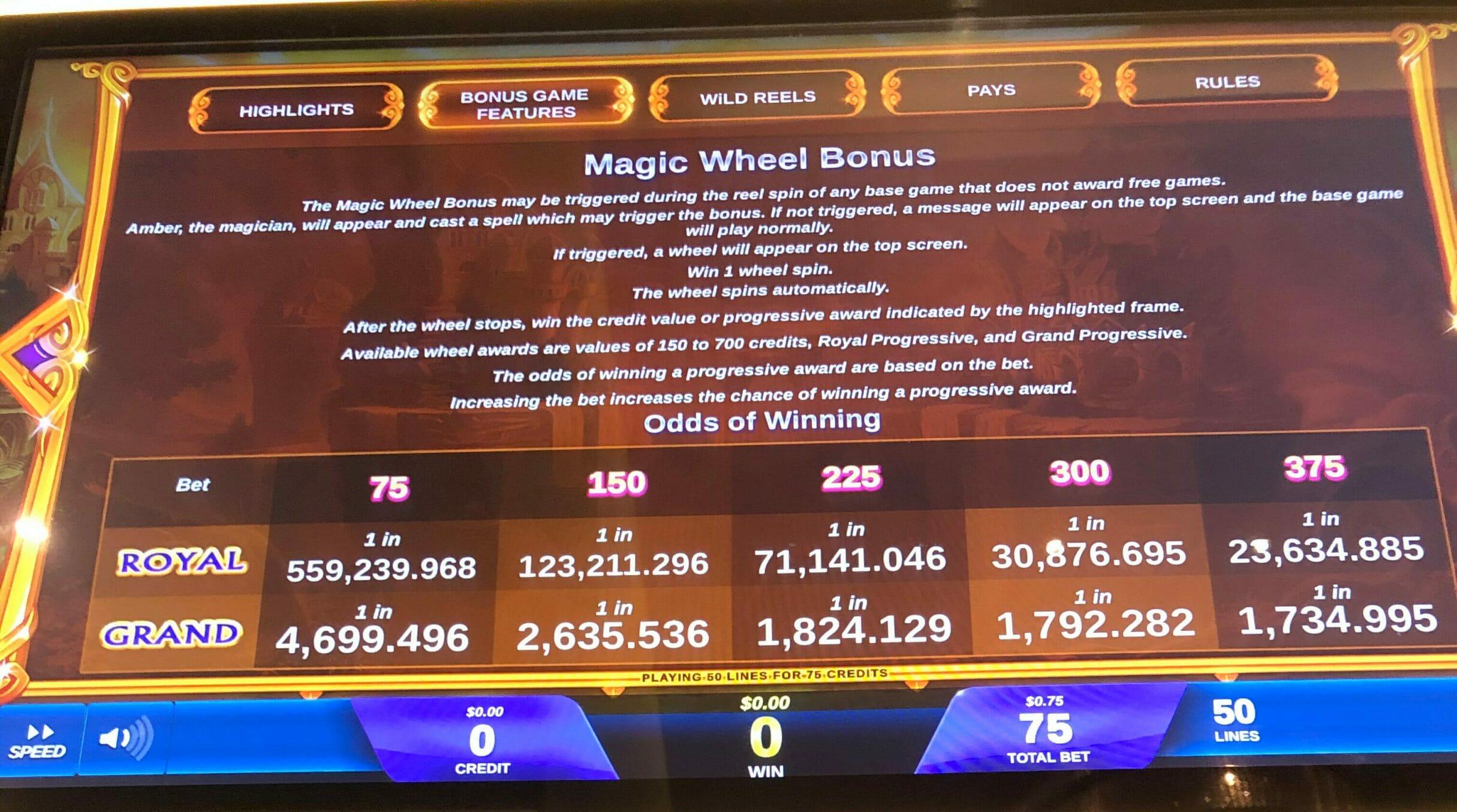 Its Magic: Amber Slot Machine