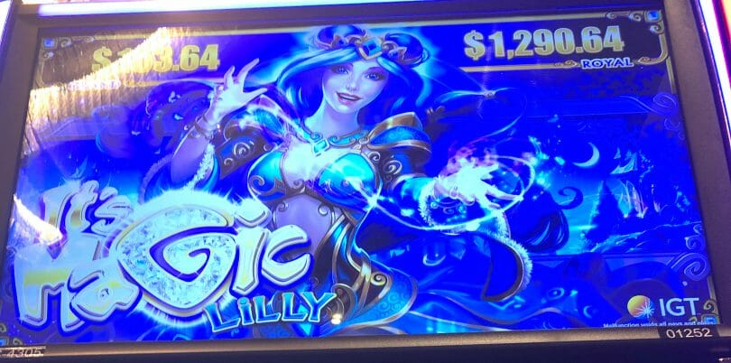 It's Magic: Lilly by IGT top screen