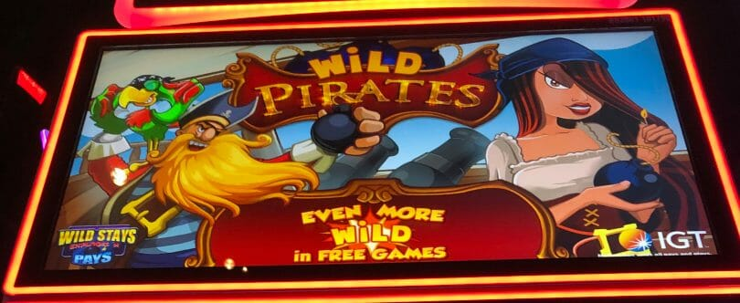 Wild Pirates by IGT top screen