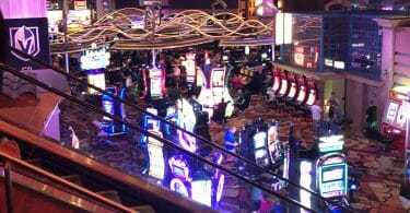 New York-New York slot floor