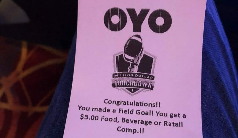 Oyo Hotel & Casino Las Vegas $3 comp
