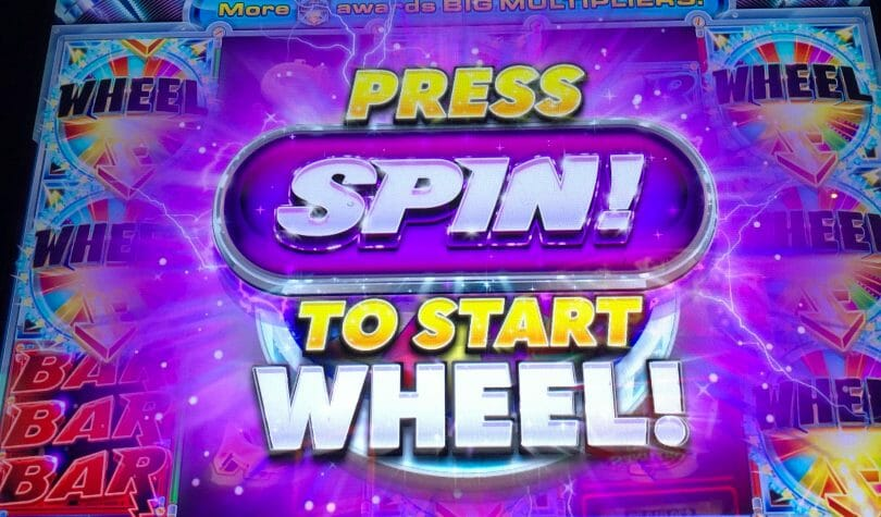 Quick Spin by Ainsworth press spin to start wheel