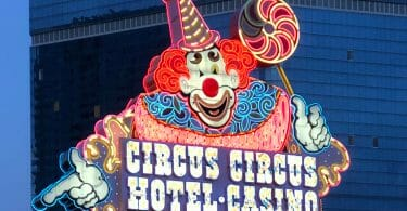 Circus Circus Las Vegas outside sign