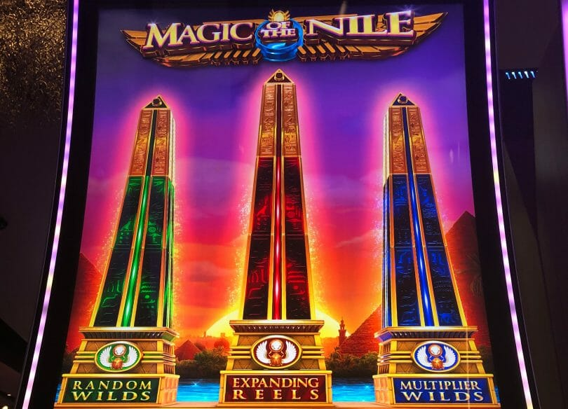 Magic of the Nile by IGT advantage play potential