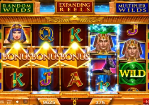 Magic of the Nile by IGT bonus trigger