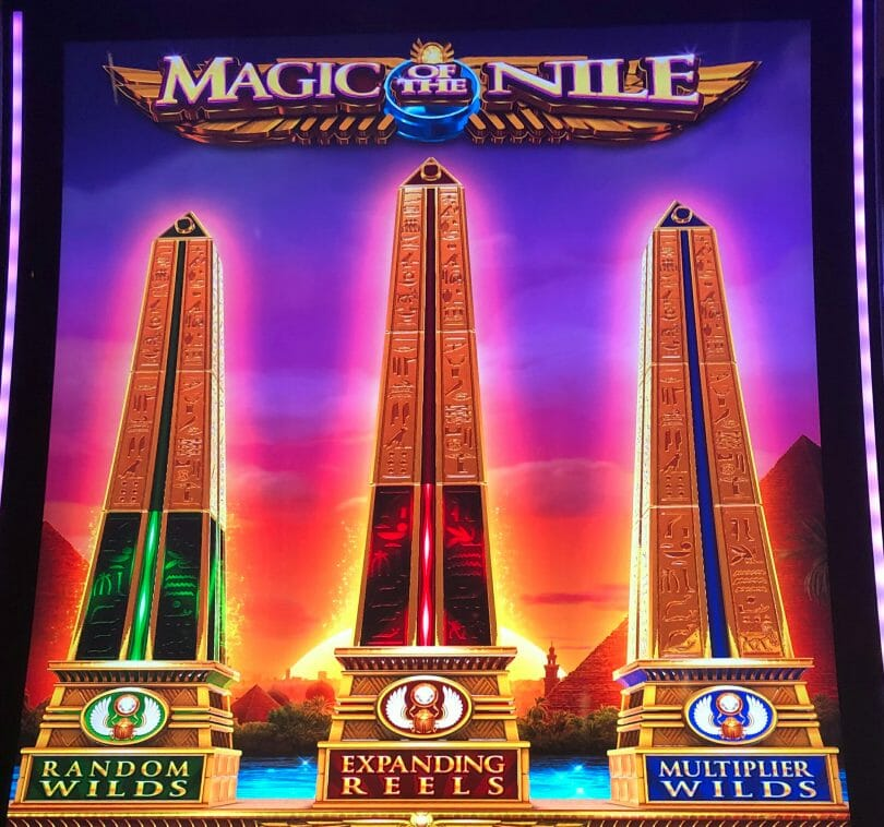Magic of the Nile by IGT hero