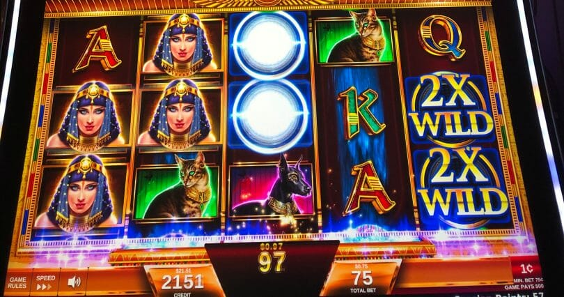 Magic of the Nile by IGT multiplier wilds feature